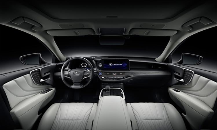 ภายใน Lexus LS