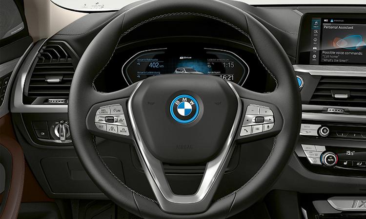 พวงมาลัย BMW iX3 EV
