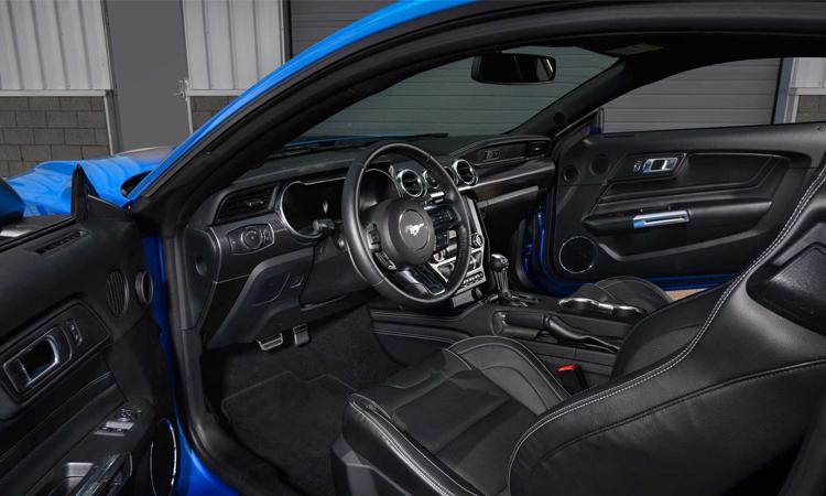 ภายใน Ford Mustang Mach 1 2021