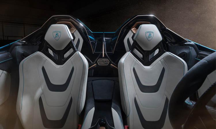 เบาะนั่ง Lamborghini Sián Roadster