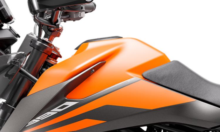ตัวถัง KTM 390 Adventure