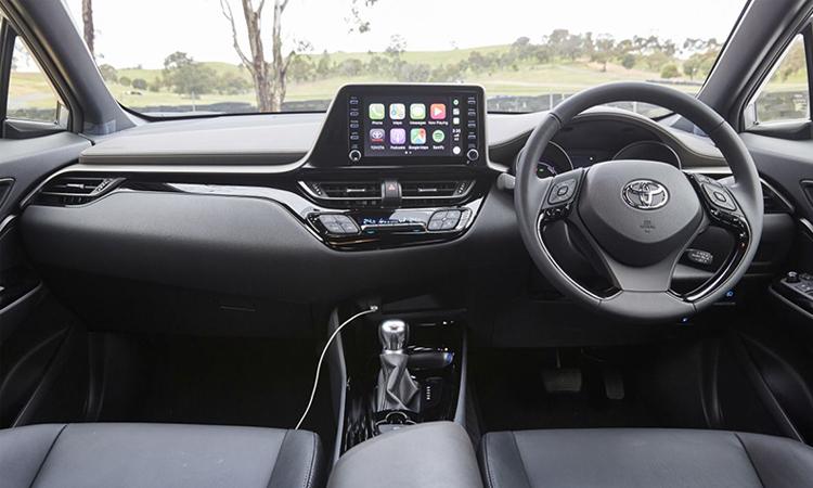 ภายใน Toyota C-HR Minorchange