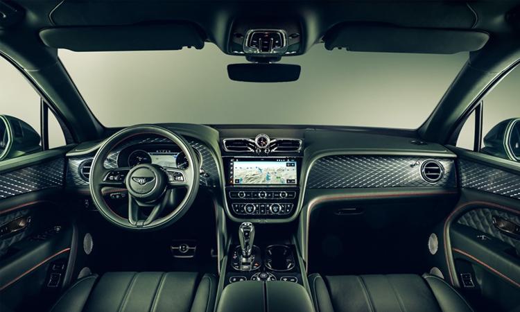 ภายใน Bentley Bentayga Minorchange