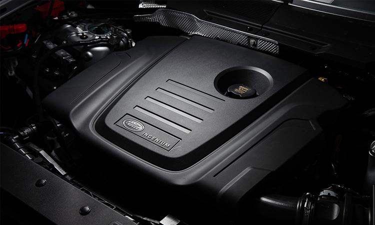 เครื่องยนต์ All-New Land Rover Defender