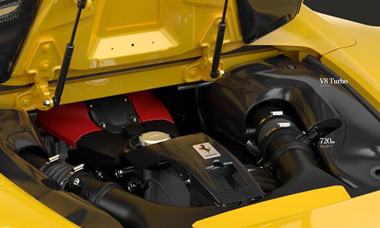 เครื่องยนต์ Ferrari F8 Spider