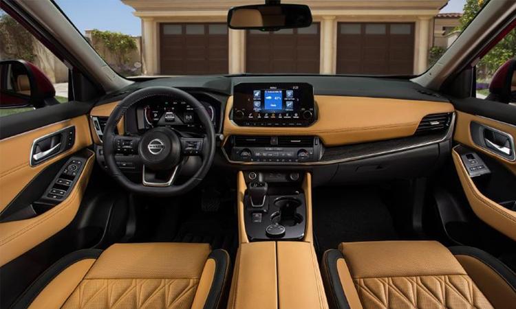 ายใน Nissan X Trail 2021
