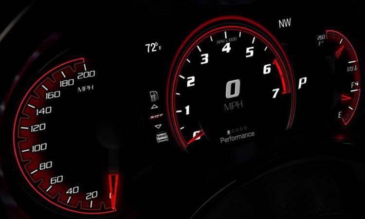 รือนไมล์ Dodge Durango SRT Hellcat 2020