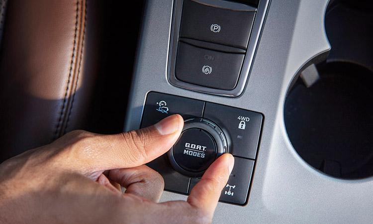 ปุ่มควบคุม Ford BRONCO Sport