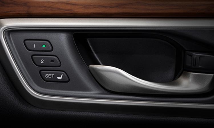 Honda CR-V Minorchange  ตั้งค่าเบาะนั่งHonda CR-V Minorchange