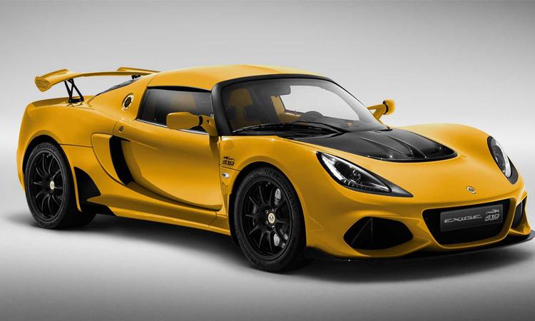 Lotus Exige Sport 410 20th Anniversary Edition สีเหลือง Saffron Yellow