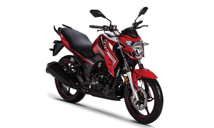 GPX CR5 EFI สีแดง