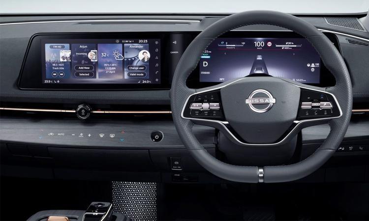 พวงมาลัย Nissan Ariya