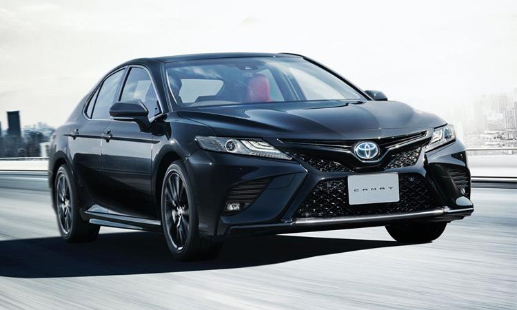 Toyota ญี่ปุ่นเปิดตัว Toyota Camry Black Edition ฉลองครบรอบ 40 ปี