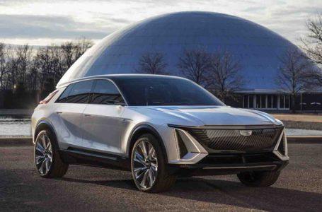 Cadillac Lyriq SUV พลังงานไฟฟ้า 100% ดีไซน์หรูพร้อมเทคโนโลยีที่ทันสมัย