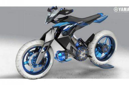 Yamaha XT 500 H2O รถมอเตอร์ไซค์ขับเคลื่อนด้วยพลังงานน้ำ