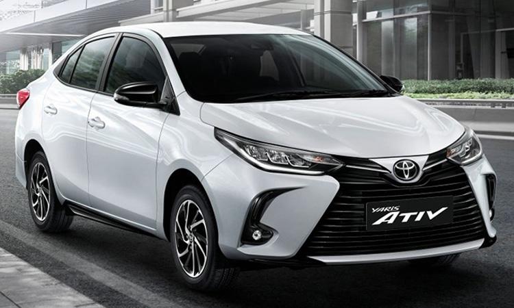 ราคา ตารางผ่อนดาวน์ Toyota Yaris ATIV Minorchange 2020 - 2021