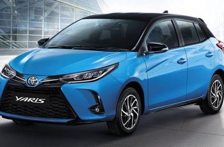 ราคา ตารางผ่อนดาวน์ Toyota Yaris Minorchange 2020 – 2021
