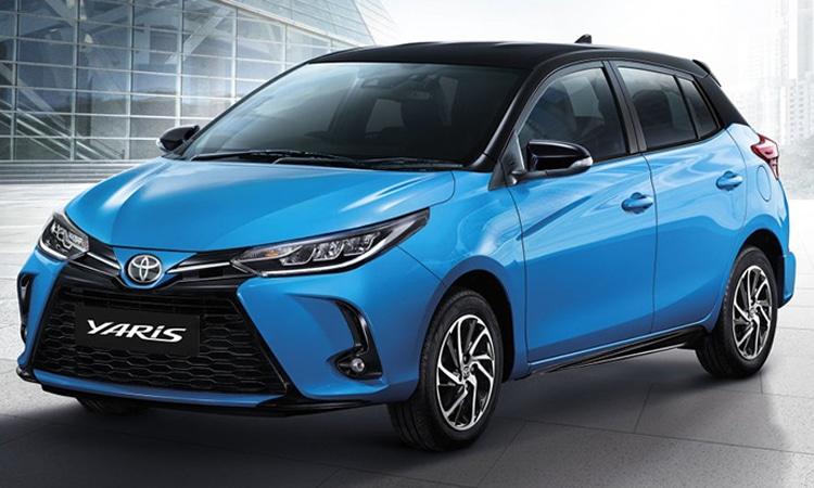 ราคา ตารางผ่อนดาวน์ Toyota Yaris Minorchange 2020 - 2021
