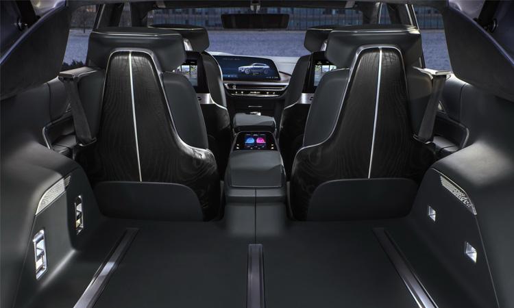ภายใน Cadillac Lyriq SUV