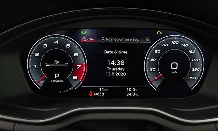 เรือนไมล์ Audi A4 Avant 45 TFSI quattro S-Line Black Edition