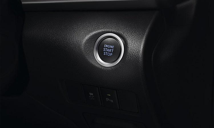 ปุ่มสตาร์ท Toyota Yaris ATIV Minorchange