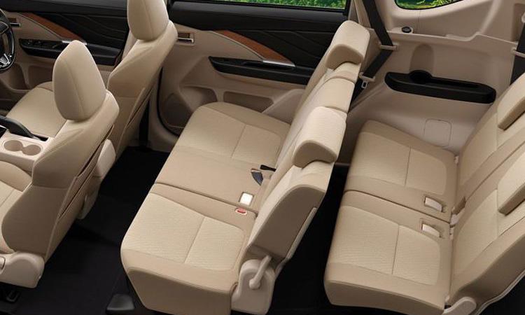 แถวนั่ง Mitsubishi Xpander 2020 minor change