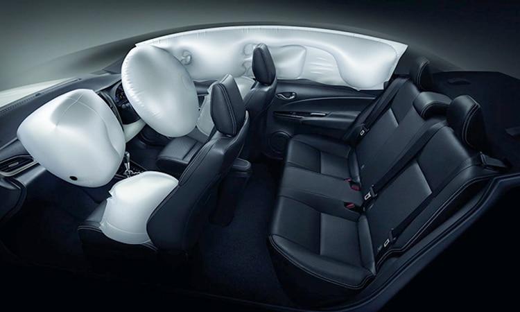 ถุงลม Toyota Yaris ATIV Minorchange
