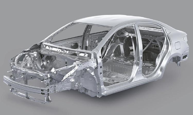 โครงสร้าง Toyota Yaris ATIV Minorchange