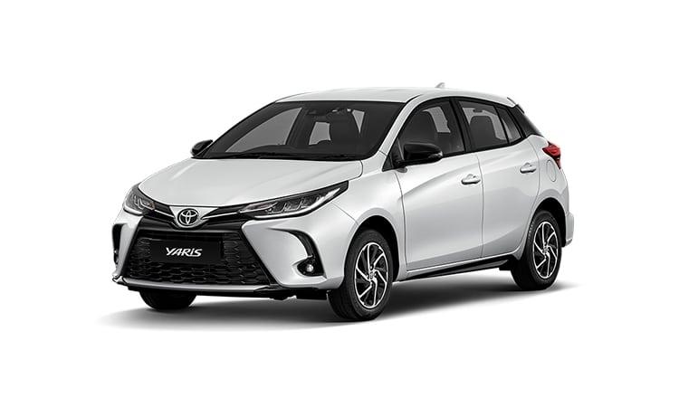 Toyota Yaris Minorchange สีขาวมุก Platimun White Pearl (รุ่น Sport Premium)