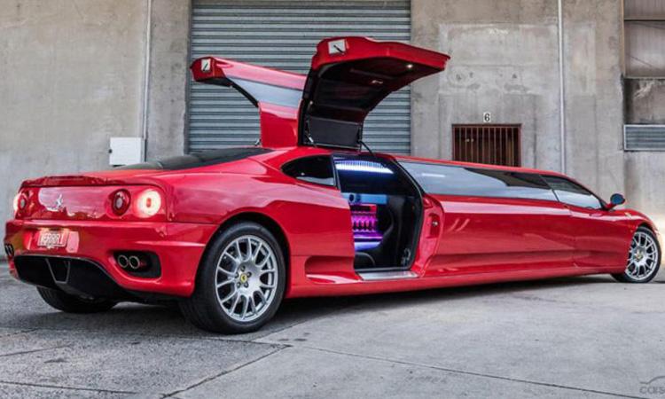 Ferrari 360 เวอร์ชั่นลีมูซีน