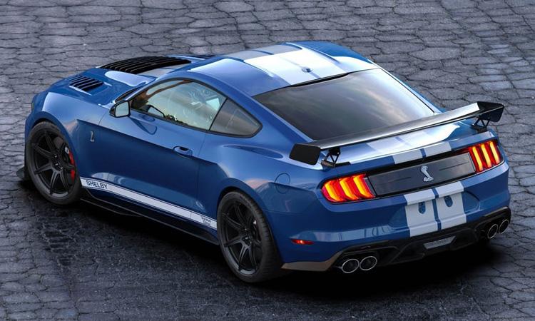 การออกแบบบ Ford Mustang Shelby GT500