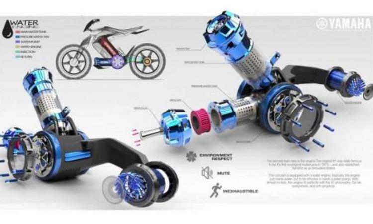 Yamaha XT 500 H2O