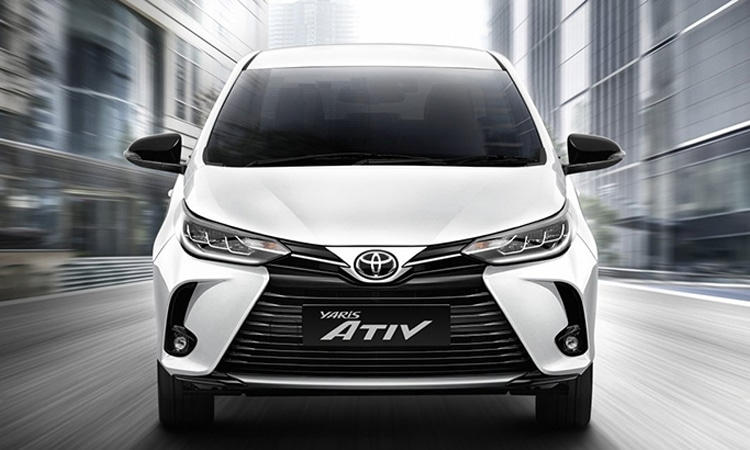 Toyota Yaris ATIV Minorchange
