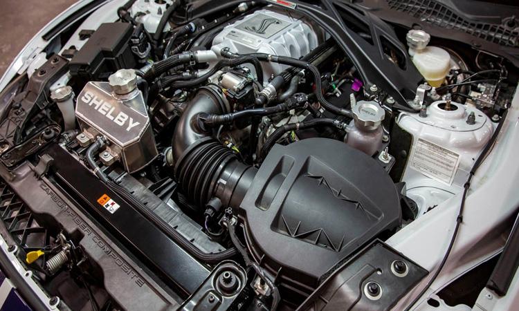 เครื่องยนต์ Ford Mustang Shelby GT500