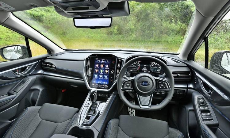 ภายใน Subaru Levorg