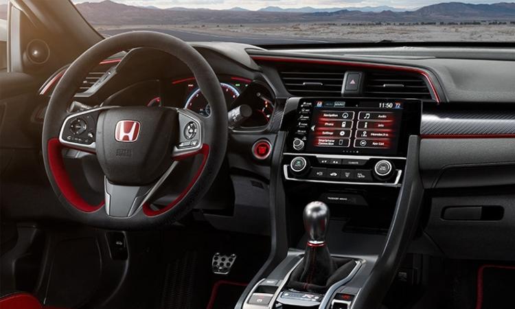 ภายใน Honda Civic Type R 2020