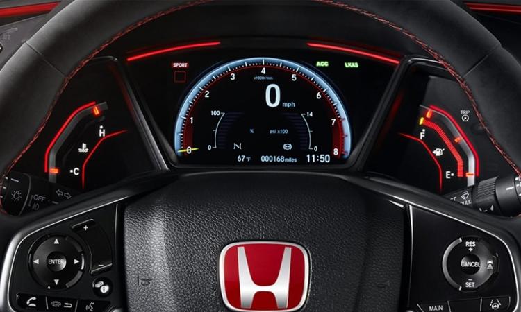 เรือนไมล์ Honda Civic Type R 2020