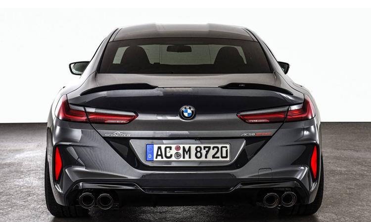 ท้าย BMW M8 Competition