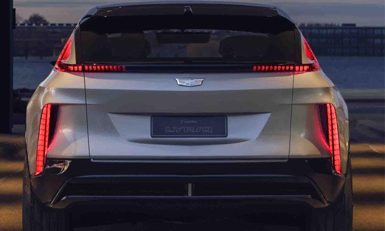 ท้าย Cadillac Lyriq SUV