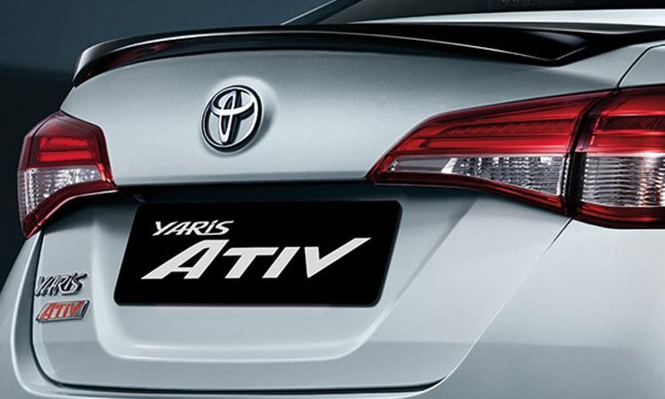ท้าย Toyota Yaris ATIV Minorchange