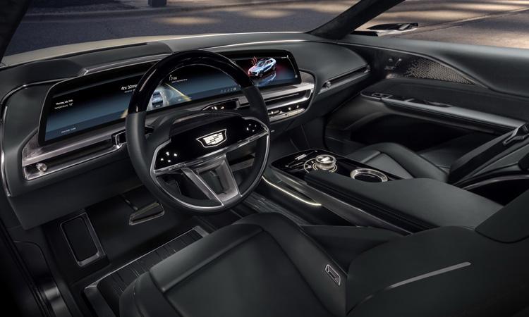 ายใน Cadillac Lyriq SUV