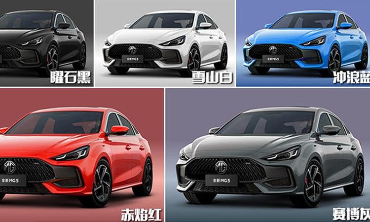 All New MG 5 ปรับ Sedan Coupe' 4 ประตู เตรียมถล่มยอดขายด้วยรถ SUV 3